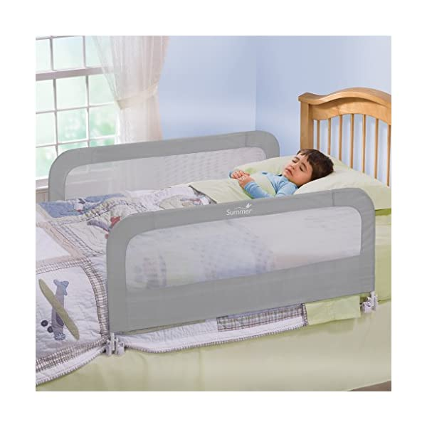 Summer Double Safety Bedrail, Grey 3