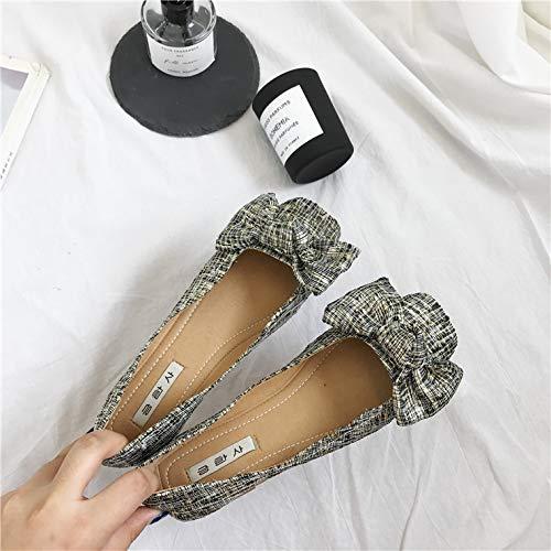 Joker Zapatos Moda Ahuec De Tejidos WULIFANG Paja xXnWdXF