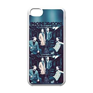 Bastille iPhone 5c Cell Phone Case-White Qnnia