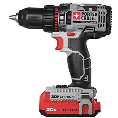 PORTER-CABLE PCCK600LB 20-volt 1/2-Inch Lithium Ion Drill/Driver Kit