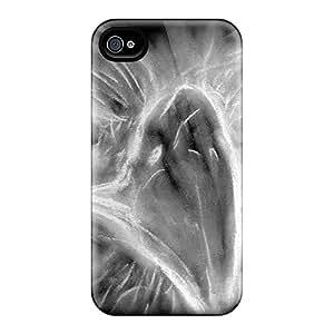 QBI18547AIvX FutureStarCase Eagle Drawn Durable Iphone 4/4s Tpu Flexible Soft Case