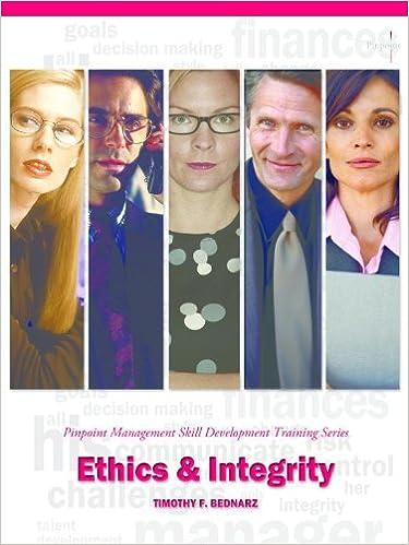 Read Ethics & Integrity: Pinpoint Management Skill Development Training Series PDF, azw (Kindle)