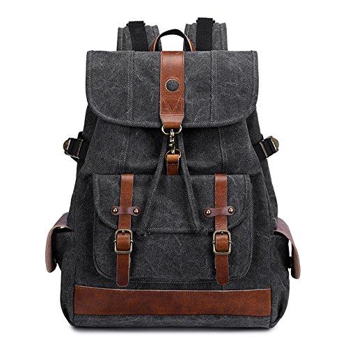 voor Casual bags vrouwen zwart heren 35cm 45cm mannen voor Bag Canvas 15cm en Rwxqn5t