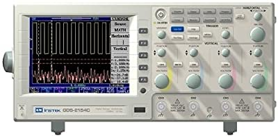 GW Instek GDS-2064 LCD Color Display Oscilloscope with 4 Input Channels, 60MHz Bandwidth, 5.8ns Rise Time