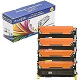 PrintOxe™ Compatible 4 Toners for CLT-407S (Complete Set) CLT407S : Black CLT-K407S , Cyan CLT-C407S , Magenta CLT-M407S , & Yellow CLT-Y407S for CLP-320 , CLP-320N , CLP-325 , CLP-325W , CLX-3180 , CLX-3185 , CLX-3185FN , CLX-3185FW . Sold by PanContinent