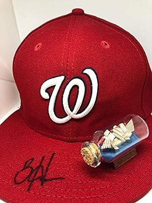 Bryce Harper Autographed Signed Washington Nationals New Era Hat - JSA Authentic Memorabilia All Star Hof Z117