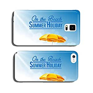 summer holiday on the beach cell phone cover case Samsung S5