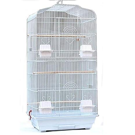 SavingPlus - Jaula de Metal Grande para pájaros, Canario ...