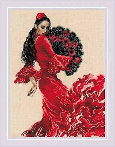 RIOLIS 1740 Dancer - Counted Cross Stitch Kit 11¾