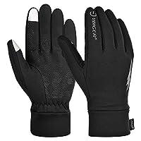 Vbiger Men Women Winter Warm Gloves Professional Touch Screen Gloves Sport Gloves Running Cycling Gloves