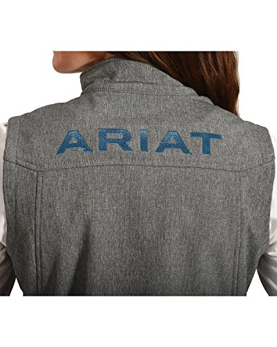Womens Anthracite Vest Jacket Ariat Softshell Team New qvnzgR