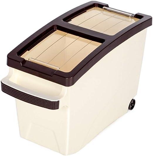 JIA JU Caja de Almacenamiento de plástico para Alimentos para ...