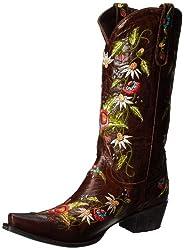 Lane Boots Women's Summer Bounty Studs Western Boot,Brown,10.5 B US