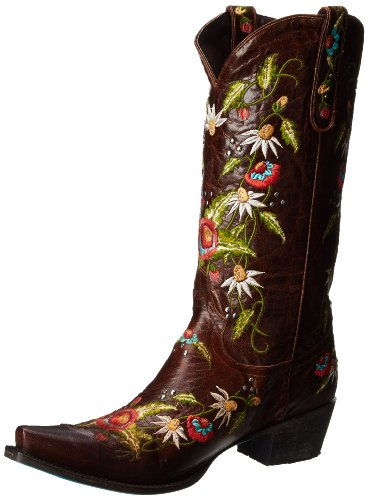 Lane Boots Women's Summer Bounty Studs Western Boot,Brown,10.5 B US by Lane Boots