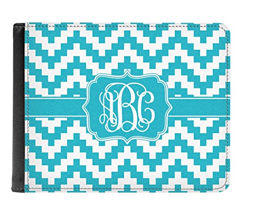 Bi Wallet Chevron Pixelated Men's Leather Genuine Chevron Pixelated fold Personalized 8YqnF