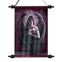 Design Toscano Angel Rose Canvas Wall Scroll Tapestry