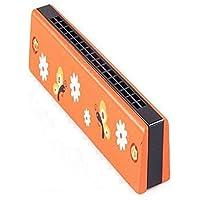 NUOLUX Wooden Harmonica For Kids Children 1pcs (Random Color)