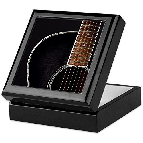Keepsake Box, Finished Hardwood Jewelry Box, Velvet Lined Memento Box ()