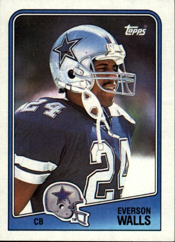 1988 Topps Football Card #268 Everson - Walls Everson
