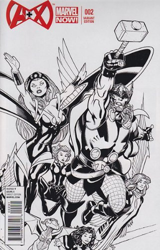 A Plus X #2 (1:50 McGuinness Sketch Variant Cover)