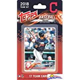 Cleveland Indians 2018 Topps Baseball EXCLUSIVE Special Limited Edition 17 Card Complete Team Set with Franciso Lindor, Jose Ramirez,Corey Kluber & More Stars & RC's! Shipped in Bubble Mailer! WOWZZER