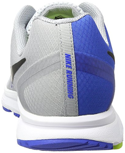 Nike Men's Zoom Span Running Shoes, Wolf Grey Grey (Wolf Grey/Black-hyper Cobalt 006)