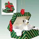 Conversation Concepts Sealyham Terrier Gift Box Green Ornament
