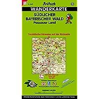 Fritsch Karten, Nr.62, Südlicher Bayerischer Wald, Passauer Land (Fritsch Wanderkarten 1:50000)