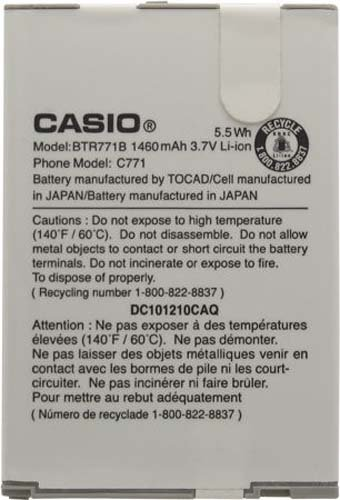 Casio BTR771B GZone Commando Battery