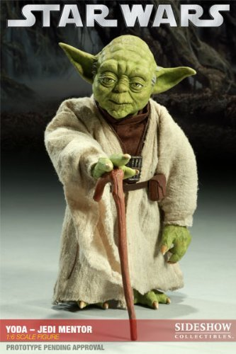 Sideshow Exclusive Yoda - Jedi Mentor Star Wars Sixth Scale Figure