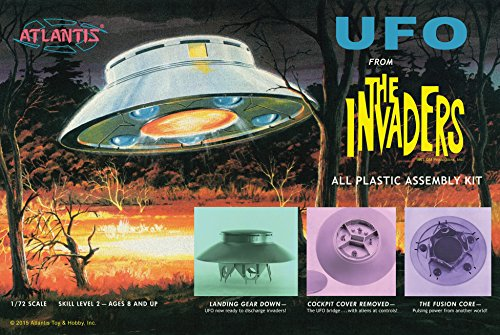 The Invaders UFO Model Kit 1/72 Atlantis Toy and Hobby