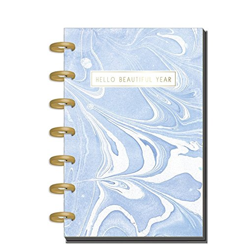 me & my BIG ideas Create 365 The Happy Planner Mini, Modern Marble (Horizontal), 12 Month Undated -