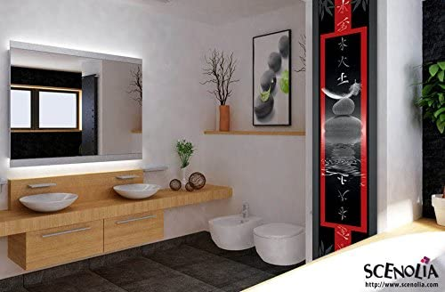 D/éco murale Qualit/é HD Scenolia Poster vertical d/éco EQUILIBRE 60 x 240 cm