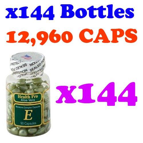 Aloe Vera Vitamin E Moisture Complex (90 Capsules) - 144 Pack by Nu-Health