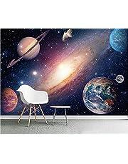 Fotobehang Muurschildering Planeten en Galaxies Behang Foto Muurschildering Home Slaapkamer Kids Slaapkamer Keuken Poster Decoratie
