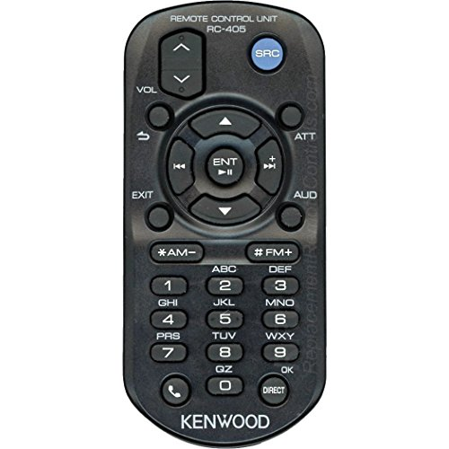 Kenwood RC-405 Wireless Remote IR audio units Control for Compatible Select Kenwood A70-2104-05 New Factory Original Receivers for Models numbers ---- kdc-148 , kdc-208 , kdc-208u , kdc-248 , kdc-248u - Audio Unit Control