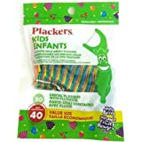 Plackers Kids Mixed Berry Dental Flossers 40 x 5 Bags = 200
