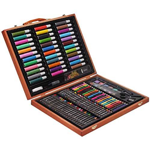 HQYDBB Kids Art Se, 150 Set di pennelli per Bambini, Combinazione di Scuola primaria per Acquerello e cancelleria per Principianti