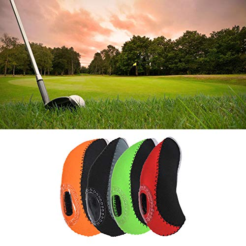 staywithu-美国 Set of 10 Pcs Golf Club Protective Iron Headcover ()
