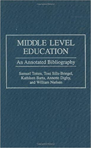 Middle Level Education: An Annotated Bibliography (Bibliographies and Indexes in Education)