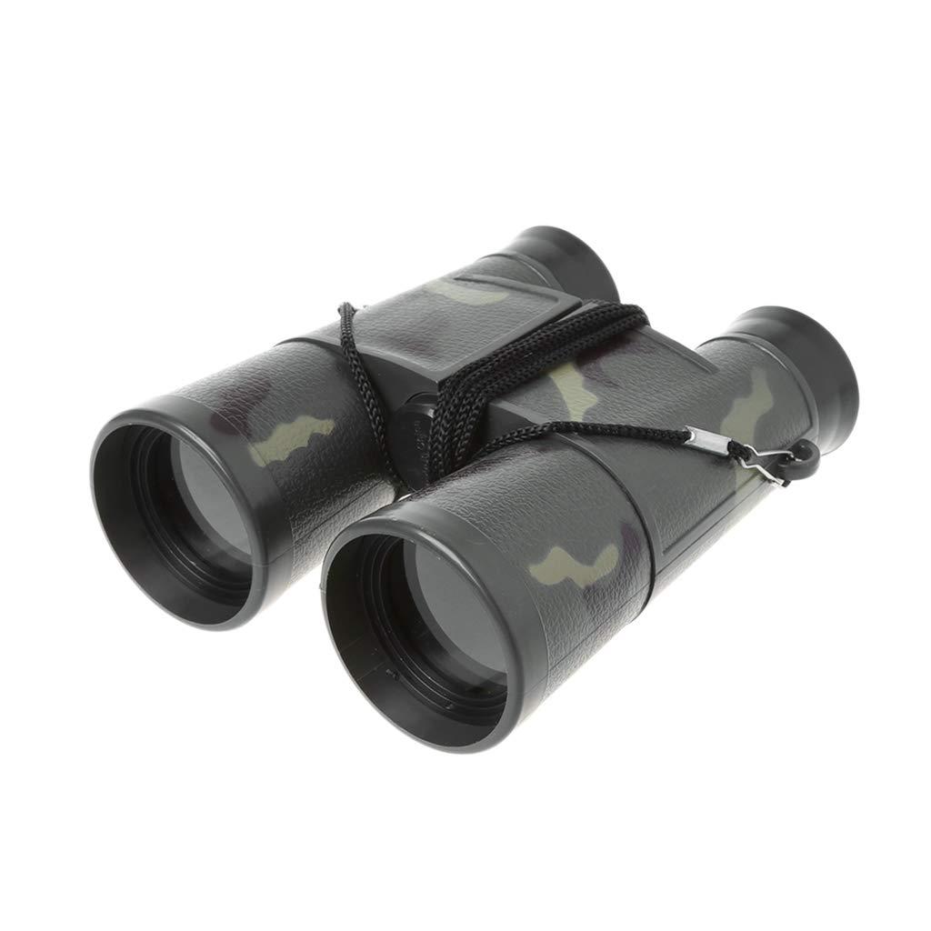 Kalttoy Kids Plastic Binoculars Portable Toy -Outdoor Camping Hiking Optical Telescope