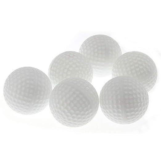 DIVISTAR 24 Pelotas de plástico para práctica de Pelotas de Golf ...