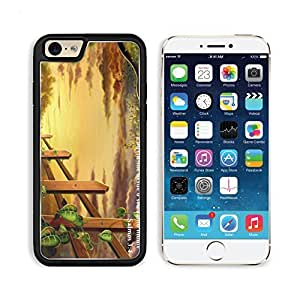 3D Vine Fence Animation Toon Apple iPhone 6 TPU Snap Cover Premium Aluminium Design Back Plate Case Customized Made to Order Support Ready Liil iPhone_6 Professional Case Touch Accessories Graphic Covers Designed Model Sleeve HD Template Wallpaper Photo J