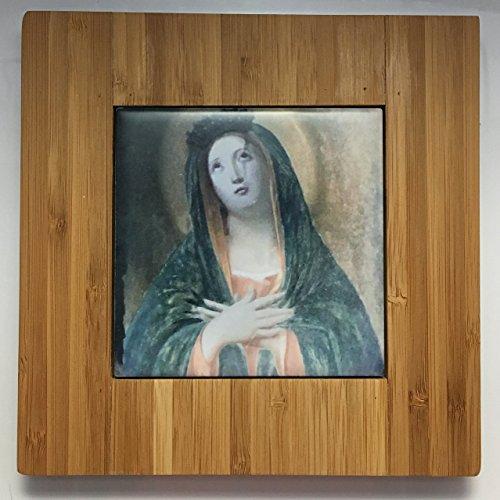 (Madonna | Bamboo Trivet)