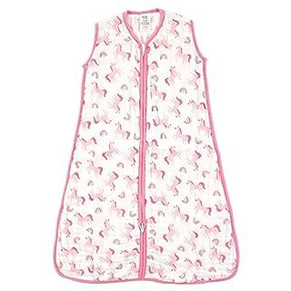 Luvable Friends Unisex Baby Sleeveless Muslin Cotton Sleeping Bag, Sack, Blanket, Rainbow, 12-18 Months
