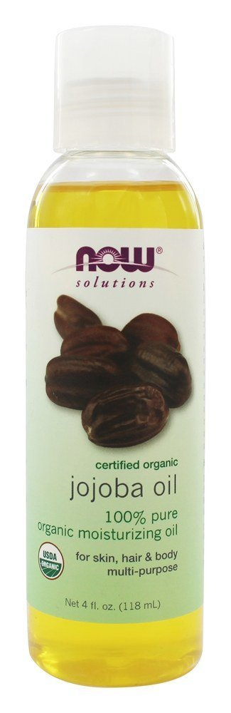 NOW  Jojoba Oil,4-Ounce (Packaging May Vary)