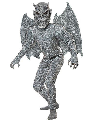 Halloween Gargoyle Costume (Ghastly Gargoyle Boys Costume Large)