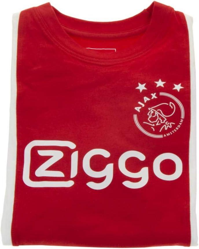 152 Pyjama ajax Amsterdam rood//wit ZIGGO Maat 92 Maat