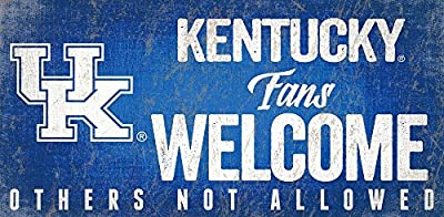 Fan Creations University of Kentucky Fans Welcome Sign, Multi