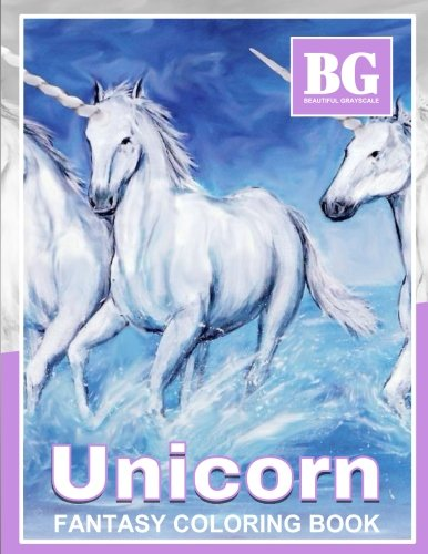 Beautiful-Grayscale-Unicorn-Fantasy-Coloring-Book-Fun-and-Realistic-Photo-Coloring-for-Kids-and-Adults